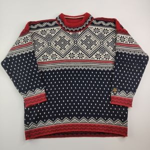 Dale of Norway Nordic Sweater Pure New Wool Large